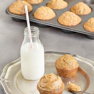 Banana Peanut Butter Breakfast Muffins