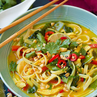 Thai Red Curry And Coconut Soup Recipes.