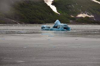 Photo: Leaving Hubbard Glacier
