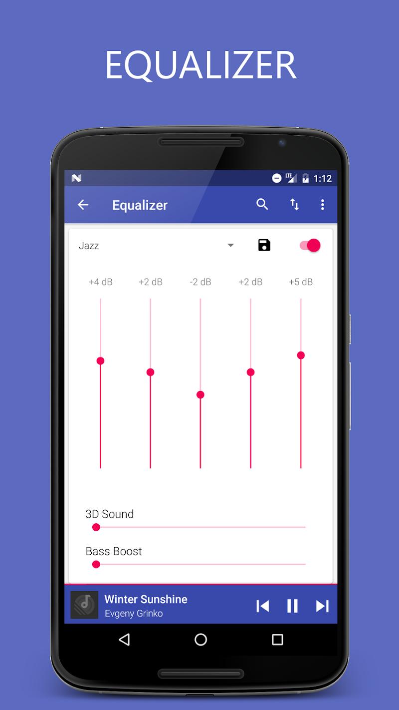 Pixel+ - Music Player Screenshot 5