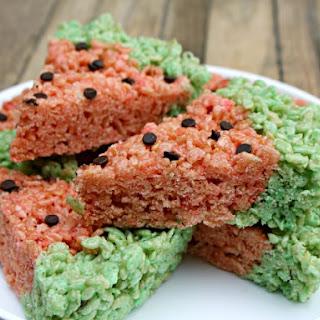 Watermelon RICE KRISPIES TREATS™.