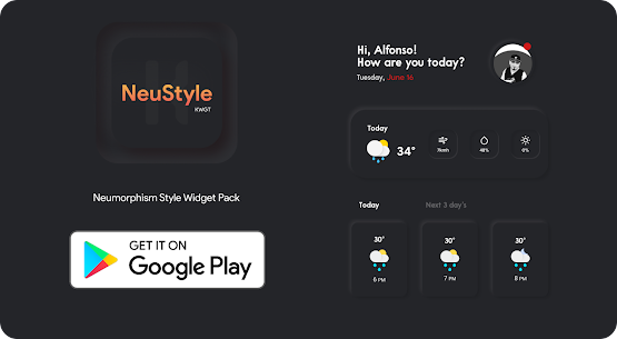 NeuStyle KWGT 1.1 Paid Latest APK Free Download 5