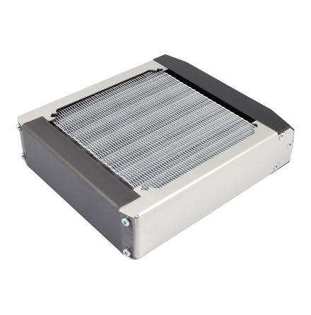 AquaComputer airplex radical 2/120, aluminium fins