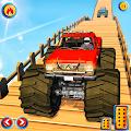Monster Truck Mountain Car Stunt Games APK