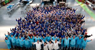 El equipo de Vicasol celebra el 40 aniversario de la cooperativa