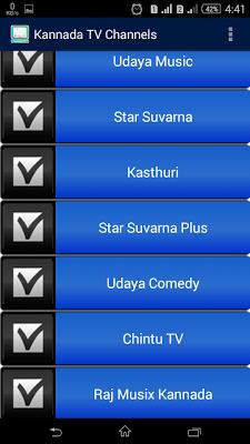 Kannada TV Channels - screenshot