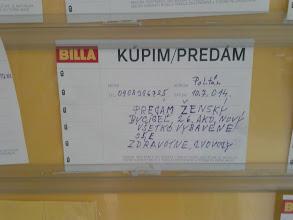 Photo: Billa, Poltár