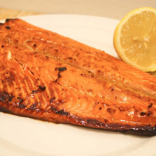 Soy Honey Salmon.