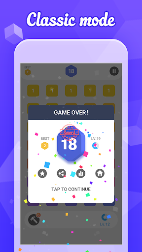 Merge 7 - Easy Number Puzzle Game 2.6 screenshots 6