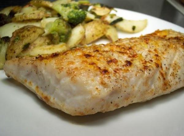 Butter Parmesan Striped Bass Recipe
