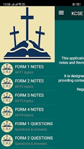 Download KCSE CRE Revision : Form 1 to 4 notes and Q&A APK