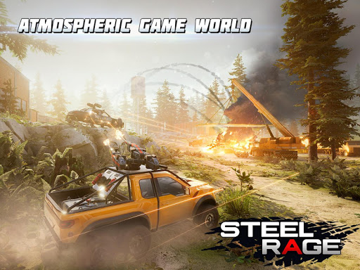 Steel Rage: Mech Cars PvP War, Twisted Battle 2020 screenshots 9