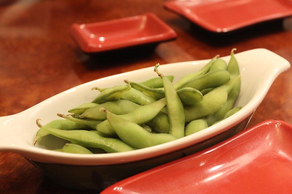 Peas at Ichiban Fish House