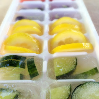 Fruit Infused Ice Cubes.