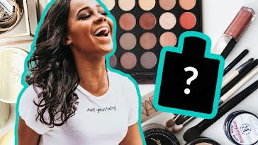 Makeup Haul - YouTube Thumbnail template
