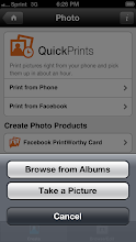 Photo: Choose where to find photos.