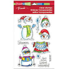 Stampendous Perfectly Clear Stamps 4X6 - Winter Stack UTGÅENDE