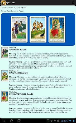 DruidCraft Tarot  screenshots 3