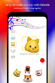 Free Animojis Karaoke & emojis  2018 Aplicaciones (apk) descarga gratuita para Android/PC/Windows screenshot