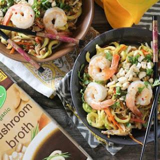Shrimp & Zucchini Pad Thai