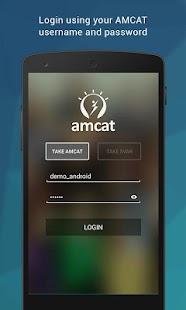 AMCAT Test - náhled