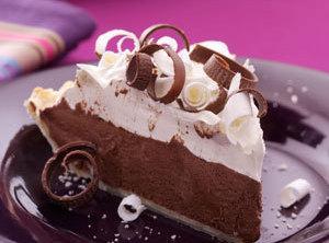 Nestle's Quik Chocolate Pie Recipe