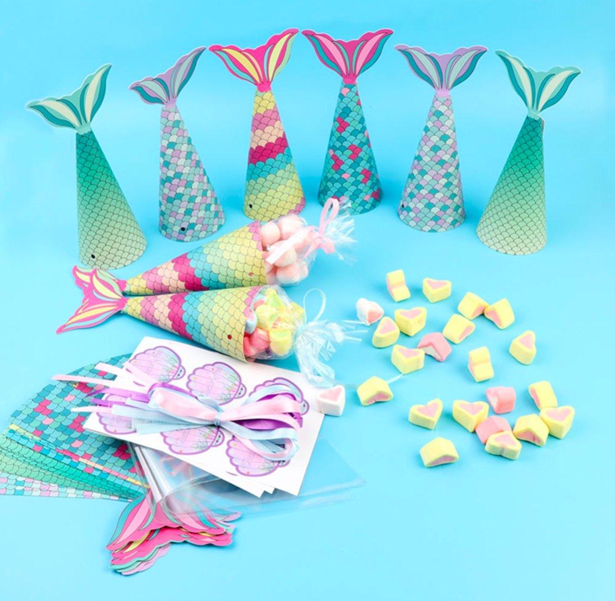Mermaid Tail Gift Bags