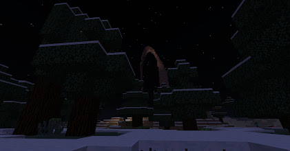 Photo: the moebius strip near spawn (on synthetic-gem) acts as a beacon