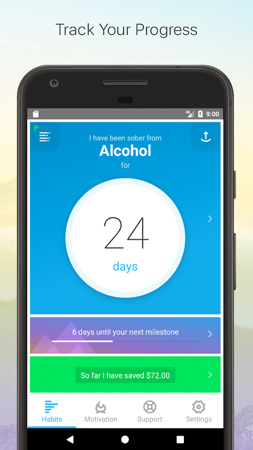 I Am Sober - Motivation For Tracking Sobriety- screenshot