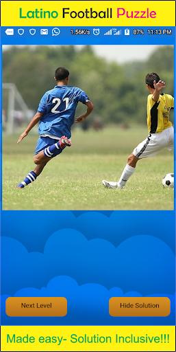 Latino Football Puzzle 1.0 screenshots 1