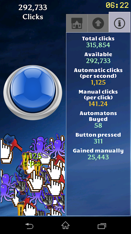 Button Clicker- screenshot