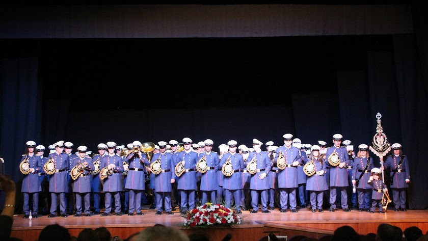 La banda de cornetas y tambores de Porcuna estará en Almería el Jueves Santo.