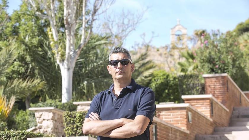 Arturo del Pino, director del conjunto monumental de la Alcazaba.