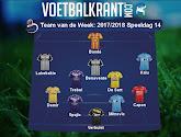 Charleroi, Anderlecht en Gent met twee spelers in het Team van de Week