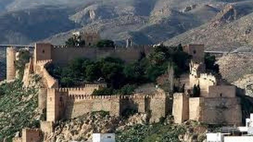 Vista general de la Alcazaba y zona de Casco Histórico