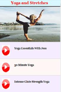 Yoga & Stretches - náhled
