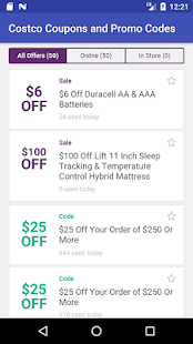 Coupon Codes and Promo Codes for Costco - náhled