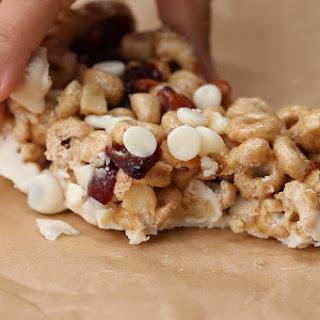 No-Bake Cereal Bars Recipe