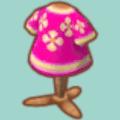 ピンクなチャイナのふく