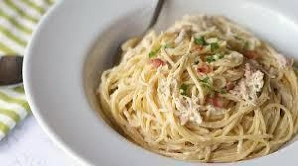 Slow-cooker Bacon Ranch Chicken Pasta Recipe