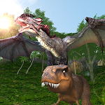 Dragon Simulator 2018: Epic 3D Clan Simulator Game Icon