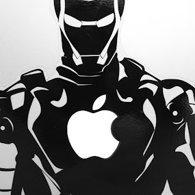 iRon Man by Penn De Los Santos - Products & Objects Technology Objects ( apple, ironman, tech )