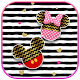 Cute Mouse Glitter bow Theme for PC Windows 10/8/7