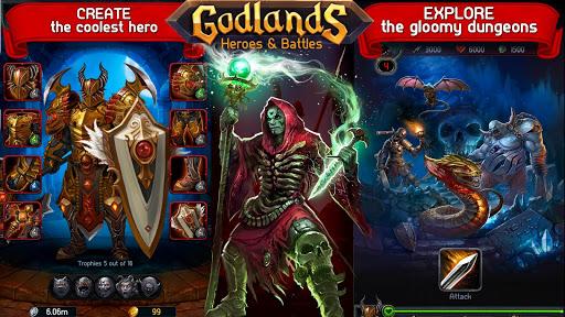 Godlands RPG - Fight for Throne : Legendary Story apkdebit screenshots 6