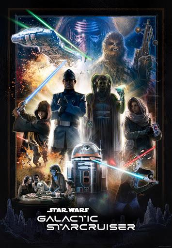 Poster for Star Wars Resort at Disney World Released