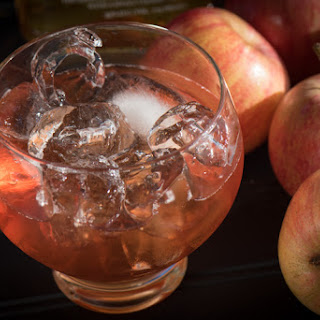 Apple Whiskey Cocktail.