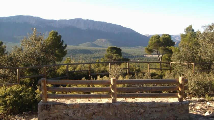 Imagen del Parque Natural Sierra María-Los Vélez desde el municipio de María.