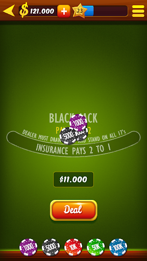 Blackjack 21 HD 1.0 Mod screenshots 2