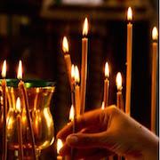 Сонник ставить свечу в церкви