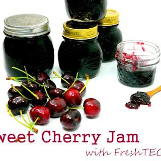 Sweet Cherry Jam with FreshTECH.